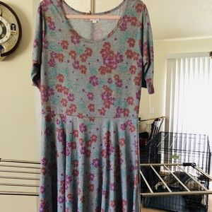 LuLaRoe 'Nicole' Women's dress 3x